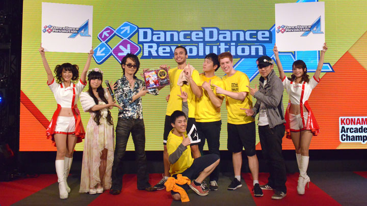 The 6th KAC DanceDanceRevolution チャンピオン CHRS4LFE さん