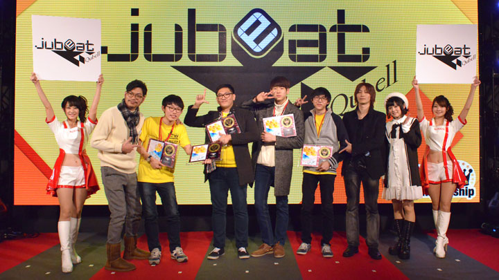 The 6th KAC jubeat 団体部門 チャンピオン Giant Chicken Family